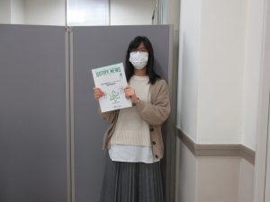 Isotope News〔No.774〕2021年4月号を手にした田村さん